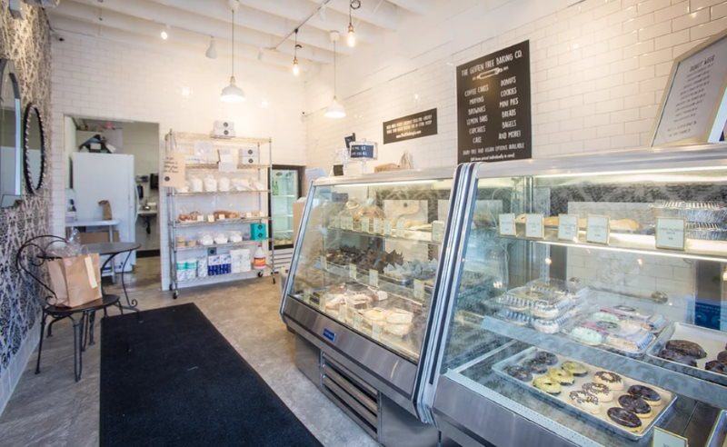 Inside The Shop at The Gluten Free Bakery Company