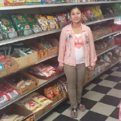 Naw Say Phaw, Owner of AYA Mini Market, a success story of the San Diego & Imperial SDBC
