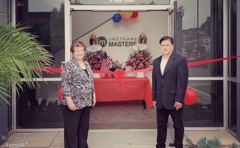 Grand opening at Urethane Masters, a success story of the San Diego & Imperial SBDC